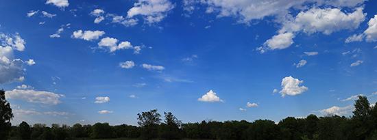 Panorama sky backgound.