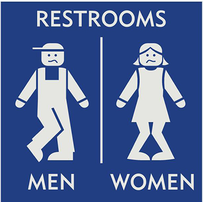 Toilet-sign